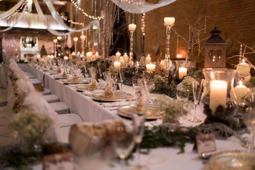A Winter Wonderland Wedding | RealWedding