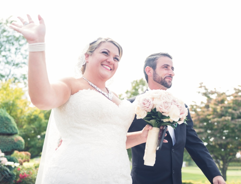 Beautiful Happy Real New York Bride and Groom Just Married